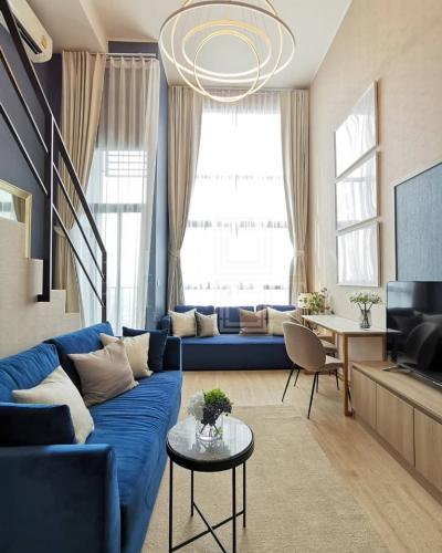 เช่าคอนโดพระราม 9 เพชรบุรีตัดใหม่ : For Rent Ideo New Rama 9 (24 sqm.)
