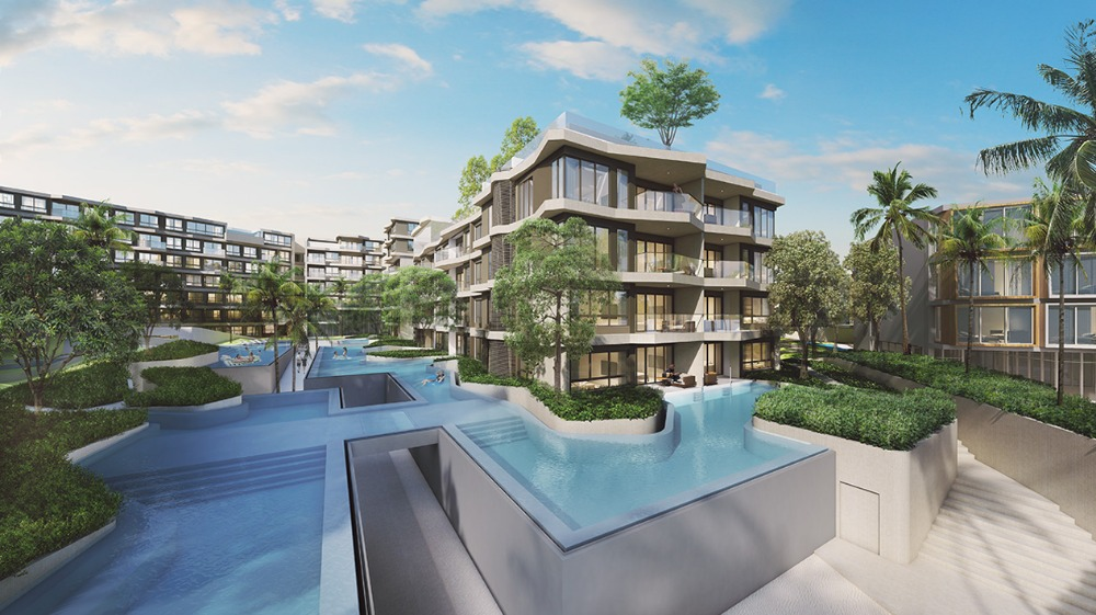 Sale DownCondoCha am, Hua Hin : Sell down payment Pool access E Veranda Ressidence Huahin building (Fully furnished by Quattro)