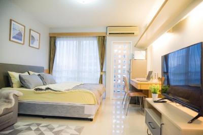 For RentCondoRama9, RCA, Petchaburi : for rent! Ihouse RCA Fully furnished