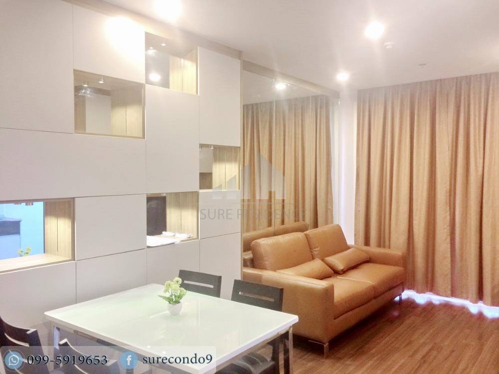 For RentCondoSathorn, Narathiwat : 😊 For RENT 2 bedroom 🚄near BTS Surasak, just 4 minutes 🏢 Supalai Lite Sathorn-Charoenrat Project