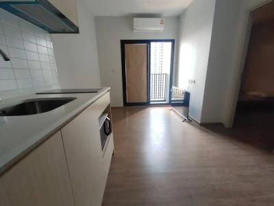 For RentCondoRamkhamhaeng, Hua Mak : For rent | New condo ready to live with animals. METRIS Rama 9-Ramkhamhaeng 15,000 baht