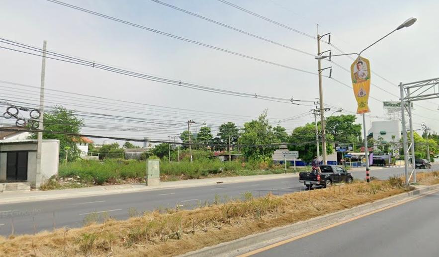For RentLandChengwatana, Muangthong : Land for rent in 255 square wah, near Tiwanon Road
