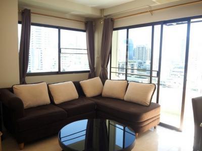 For RentCondoSukhumvit, Asoke, Thonglor : KD9 Condo for rent at Saranjai Mansion, Sukhumvit Soi 4 (Nana), condominium 63 sqm, 10th floor, 1 bedroom, 1 bathroom, 25000 per month.