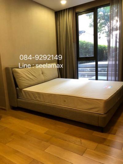 For RentCondoWitthayu, Chidlom, Langsuan, Ploenchit : Rent / Rent class Klass Langsuan Floor1 + 2 (Duplex) Garden View 110 Sqm. 3 bedroom / 3 bathroom Rent: 80,000 / month