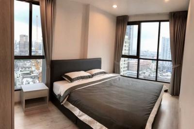 For RentCondoRatchathewi,Phayathai : Condo for rent 45000 Ideo Q Ratchathewi, near BTS Ratchathewi, size 65 sqm., 2 bedrooms, 2 bathrooms, 22nd floor