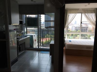 เช่าคอนโดอ่อนนุช อุดมสุข : M2164-ให้เช่าคอนโด เดอะ เบส สุขุมวิท77 ขนาด 31ตรม.ชั้น11 1ห้องนอน1ห้องน้ำ มีเครื่องซักผ้า@14000