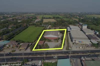 For SaleWarehouseNakhon Pathom, Phutthamonthon, Salaya : [[Sell warehouse]] licensed 3,618 sq.m., Salaya, next to the main road, near Mahidol 7 minutes