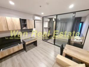 For RentCondoRattanathibet, Sanambinna : For rent, politan rive, 31st floor, 30 sqm, corner room, beautiful river view, ready to move in