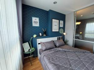 For RentCondoRama5, Ratchapruek, Bangkruai : For rent Lumpini Ville Nakhon In - River View, beautiful room, cheap price