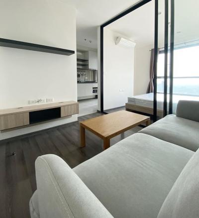 เช่าคอนโดอ่อนนุช อุดมสุข : M2149-ให้เช่าคอนโด เดอะ เบส พาร์คเวสต์ สุขุมวิท77 26ตรม. ชั้น38 1ห้องนอน 1ห้องน้ำ @12500