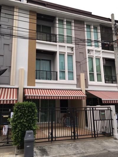 For SaleTownhouseRatchadapisek, Huaikwang, Suttisan : M2146 - Sell 3-story townhouse, Ratchada 36 164 sq.m., price 5.9 million