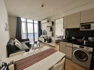 For RentCondoSukhumvit, Asoke, Thonglor : For Rent Park 24 (55 sqm.)