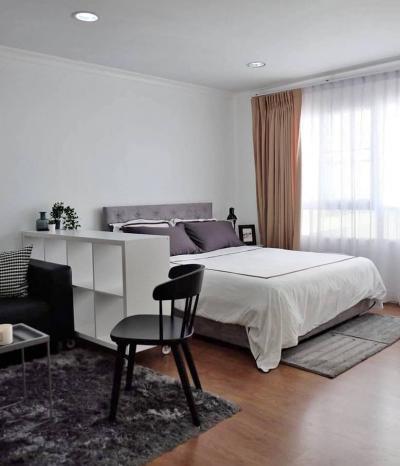 เช่าคอนโดสุขุมวิท อโศก ทองหล่อ : M1573 Lumpini suite sukhumvit 41 22,000 บาท 36ตรม ชั้น6 Studio ตึกเอ