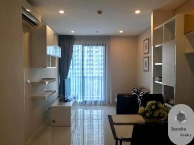 เช่าคอนโดพระราม 9 เพชรบุรีตัดใหม่ : P17CR2003038 Rent Villa Asoke 1 Bed 23000