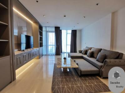 เช่าคอนโดวิทยุ ชิดลม หลังสวน : P17CR2002017 Rent Athenee Residence 2 Bed 100000