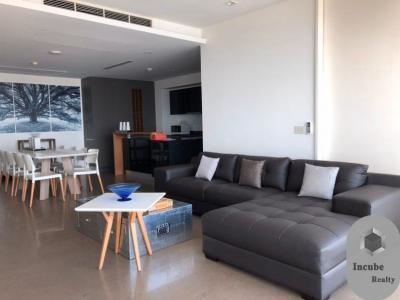 For RentCondoWongwianyai, Charoennakor : P17CR2001015 Rent The River Condominium 3 Bed 90000