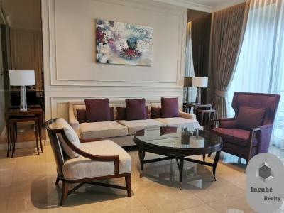 For RentCondoWitthayu,Ploenchit  ,Langsuan : P17CR2001034 Rent Sindhorn Residence 2 Bed 140000