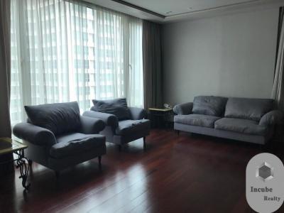 For RentCondoWitthayu,Ploenchit  ,Langsuan : P17CR2002042 Rent The Park Chidlom 3 Bed 150000