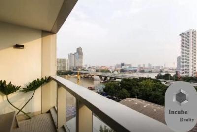 For RentCondoWongwianyai, Charoennakor : P29CR2001011 Rent The River Condominium 1 Bed 40000