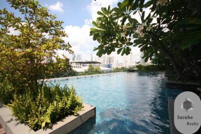 เช่าคอนโดพระราม 9 เพชรบุรีตัดใหม่ : P27CR2001022 Rent Villa Asoke 1 Bed 23000