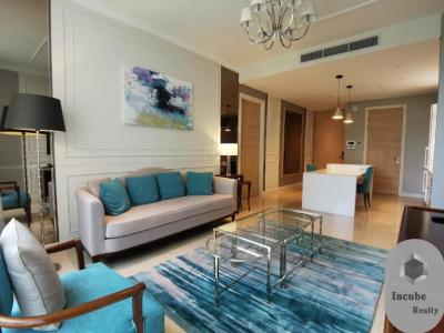 เช่าคอนโดวิทยุ ชิดลม หลังสวน : P17CR2003010 Rent Sindhorn Residence 1 Bed 75000