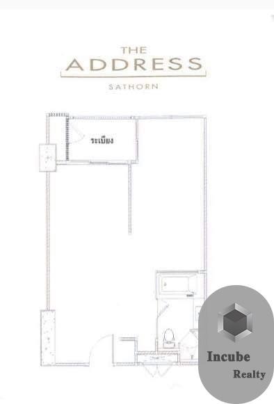 เช่าคอนโดสาทร นราธิวาส : P27CR2001031 Rent The Address Sathorn 1 Bed 30000