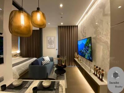 เช่าคอนโดพระราม 9 เพชรบุรีตัดใหม่ : P27CR2001032 Rent The Esse at Singha Complex 1 Bed 37000