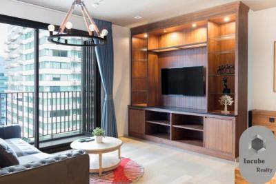 เช่าคอนโดสุขุมวิท อโศก ทองหล่อ : P35CR2001012 Rent HQ by Sansiri 2 Bed 60000