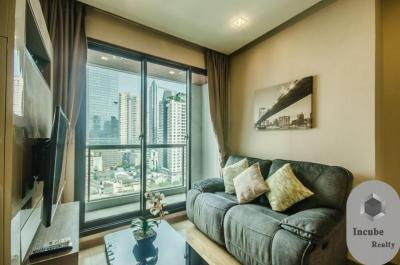 For RentCondoSathorn, Narathiwat : P35CR2001034 Rent The Address Sathorn 1 Bed 32000