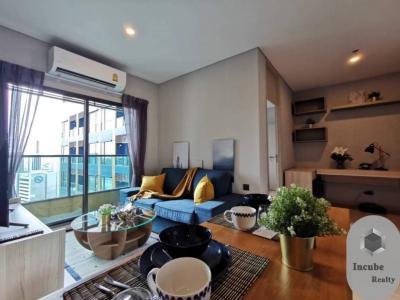 เช่าคอนโดพระราม 9 เพชรบุรีตัดใหม่ : P35CR2001035 Rent Lumpini Suite Phetchaburi-Makkasan 2 Bed 33000
