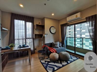 เช่าคอนโดพระราม 9 เพชรบุรีตัดใหม่ : P35CR2001037 Rent Lumpini Suite Phetchaburi-Makkasan 1 Bed 20000