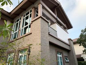 For RentHouseBangna, Bearing, Lasalle : Luxury house for rent Nantawan Bangna Km. 7 village (Nantawan Bangna Km. 7) single house. Fully furnished