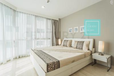 For RentCondoSukhumvit, Asoke, Thonglor : For rent 59Heritage 66 sqm. 2 bedrooms, 2 bathrooms, only 30,000 baht / month. (Get the agent)