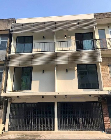 For RentShophouseRama3 (Riverside),Satupadit : RP083 3-storey commercial building for rent, renovated 148 sqm, Sathorn-Sathupradit.