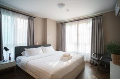 For SaleCondoChiang Mai, Chiang Rai : D condo Nim, 2 bedrooms, garden view, not hot for sale, only 4,490,000 baht including transfer !!