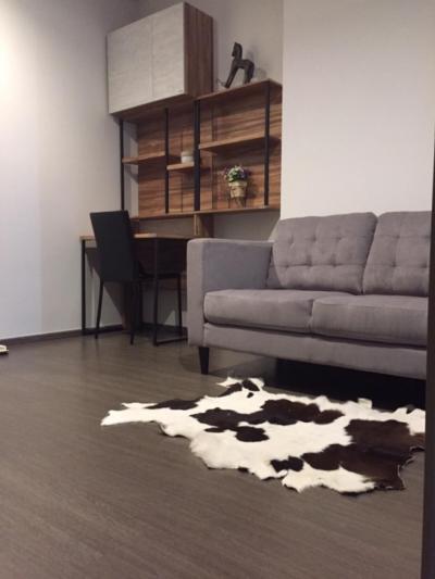 For RentCondoOnnut, Udomsuk : Brand new 1 bedroom unit for rent on excellent location(2-3 step to BTS Bangchak)