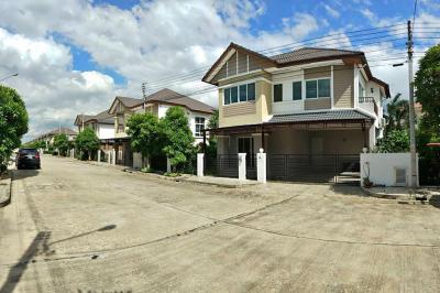 เช่าบ้านรังสิต ธรรมศาสตร์ ปทุม : RH310 ให้เช่าบ้านเดี่ยว3 ห้องนอน 3 ห้องน้ำ หมู่บ้าน Vista Ville 3 C ลำลูกกา ใกล้สนามบินดอนเมือง