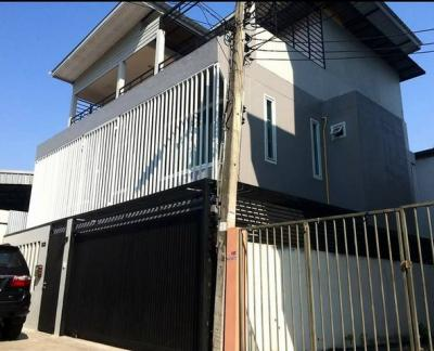 For RentHouseDaokanong,Bang Bon : RH313 House for rent, 3 floors, renovated, new, Kalapapruek, Sathorn, near Big C Kalapapruek.