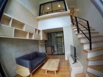 เช่าคอนโดรัชดา ห้วยขวาง : ++เช่าด่วน  ห้อง Duplex++ L LOFT RATCHADA 19** ห้อง Duplex 40.36 ตร.ม. ชั้นสูง แต่งครบ