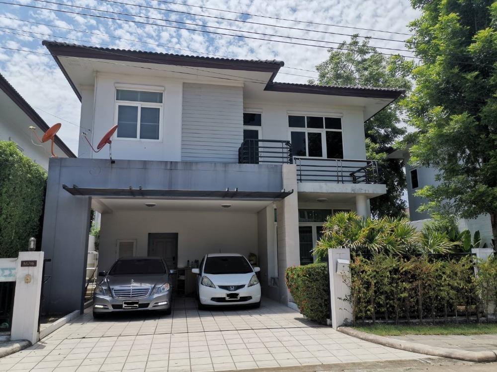 For SaleHouseNawamin, Ramindra : House for sale in Rasa Parklane Village (Rasa Park Lane), Watcharapol Ramintra, near expressway, near BTS