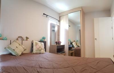 For RentCondoRangsit, Patumtani : For rent, Plum Alive 1, large room, 34.5 sq m (2 bedrooms), pool view.