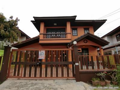 For SaleHouseRathburana, Suksawat : 2-storey detached house for sale in Sireethorn Village, Soi Pracha Uthit 76, Thung Khru