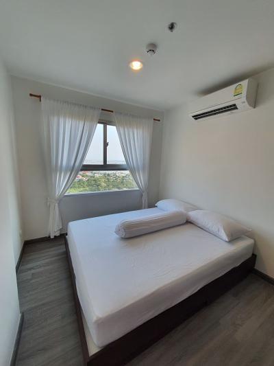 For RentCondoSamrong, Samut Prakan : A0898 ++RENT++The Trust @ BTS Erawan ขนาด 29 ตรม. วิวแม่น้ำ ห้องใหม่ไม่เคยอยู่ *BTS Erawan