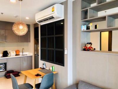 เช่าคอนโดพระราม 9 เพชรบุรีตัดใหม่ : เช่าคอนโด ห้องมุม ริทึ่ม อโศก2 Rhythm Asoke 2ห้องนอน 44ตรม.ใกล้ MRTพระรามเก้า Airport Link ทางด่วน