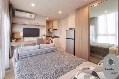 For RentCondoRatchadapisek, Huaikwang, Suttisan : P12CR2003011 Noble Revolve Ratchada 2 Studio Bed 1bath23 sqm. 15000baht