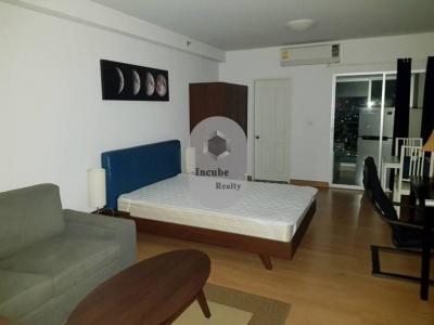 For RentCondoRama9, RCA, Petchaburi : P13CR1805013 Supalai Park Asoke-Ratchada Studio 1bath34 sqm. 14000baht