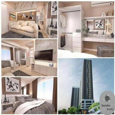 For RentCondoThaphra, Wutthakat : P24CR1908068 Aspire Sathorn-Thapra Studio 1bath26 sqm.15000baht