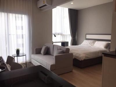 For RentCondoRatchadapisek, Huaikwang, Suttisan : P12CR2001028 Noble Revolve Ratchada 2 Studio bed 1bath25 sqm.15000baht