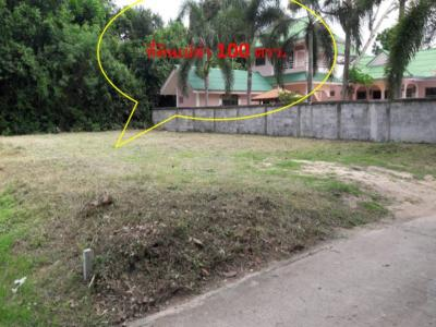 For SaleLandCha am, Hua Hin : Sell empty land, beautiful and then close to the road 100 Trw. 2 million