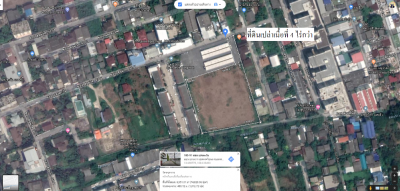 For RentLandOnnut, Udomsuk : Land for rent, 4 Rai over BTS Bang Chak, located in Soi Sukhumvit 97/1, about 800 meters from the BTS